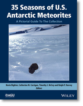 Antarctic Meteorites book by AGU and Wiley.