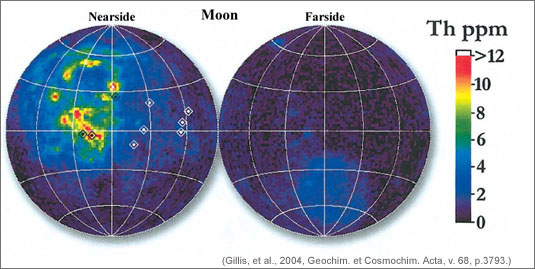Recalibrated lunar Th abundance maps