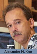 Dr. Alexander N. Krot, cosmochemist at University of Hawaii.