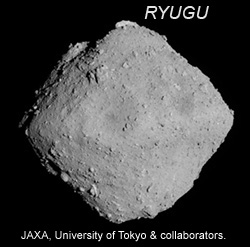Ryugu image from Hayabusa2.