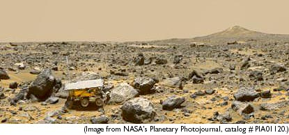 1997 Sojourner Mars Rover - Pics about space