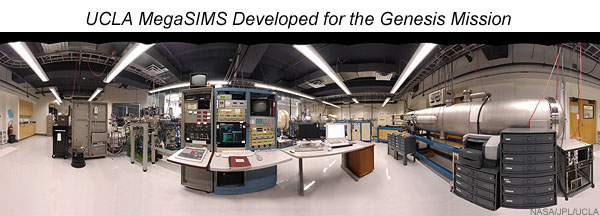 Photo of the MegaSIMS lab at UCLA.