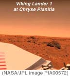 Viking Lander 1 in Chryse Planitia